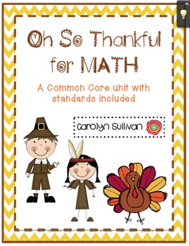 Oh So Thankful...For Math