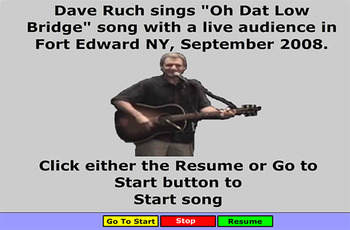 Erie Canal Song - Oh, That Low Bridge - BillBurton
