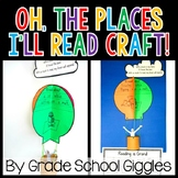 Oh The Places I'll Read Hot Air Balloon Bulletin Board