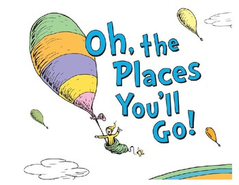 Oh The Places You'll Go Bulletin Board
