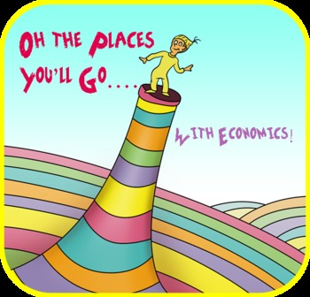Oh, The Places You'll Go with Economics Worksheet