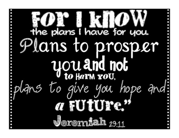 Oh, The Plans God Has