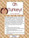 Oh Turkey! - A letter Recognition game