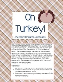 Oh Turkey! - A number 1-20 recognition and counting game