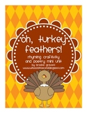 Oh, Turkey Feathers - a Thanksgiving poetry mini-unit & craftivity