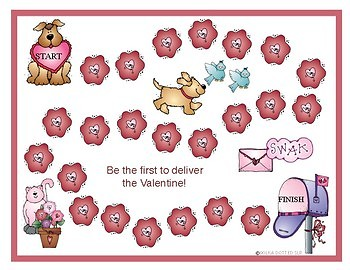 Valentine's Day Nonsense Word Fluency Resource