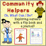 Community Helpers Flip Book