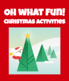 Oh What Fun Christmas Activities for Google!