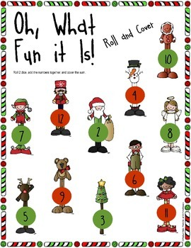 Oh, What Fun it Is! Christmas Roll, Add and Cover