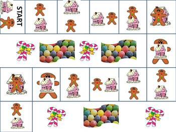 Oh Where is the Gingerbread Man - A Christmas Positional Word Game