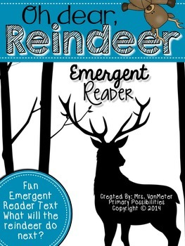 Oh dear, Reindeer (Emergent Reader)