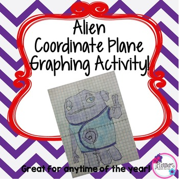 Alien Coordinate Graphing Picture