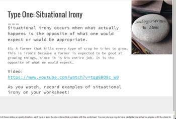 Oh the Irony! An Overview of Irony