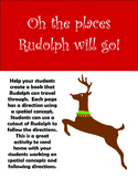 Oh the Places Rudolph will Go! - spatial concepts and following directions