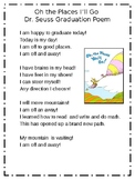Oh the Places I  Go Graduation Poem (inspired by Dr. Seuss)