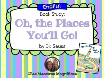 Oh, the Places You'll Go! Book study