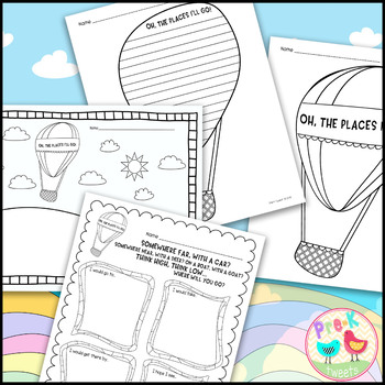 Oh the Places You'll Go Coloring