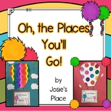 Oh the Places You'll Go Goal Setting Craftivity