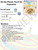 Oh the Places You'll Go Cupcakes - Dr. Seuss - Visual Recipe