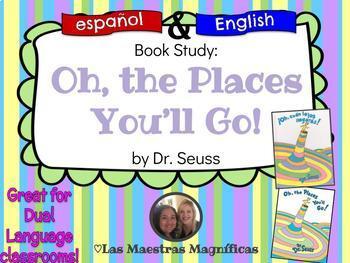 Oh, the Places You'll Go! Dr. Seuss Bundle - English / Spanish (español)
