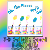 Oh, the Places They'll Go Bulletin Board Writing 3D Craft