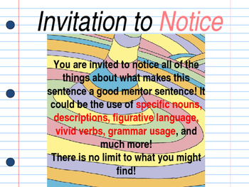 Oh the places youll go interactive mentor sentence teaching powerpoint stopboris Gallery