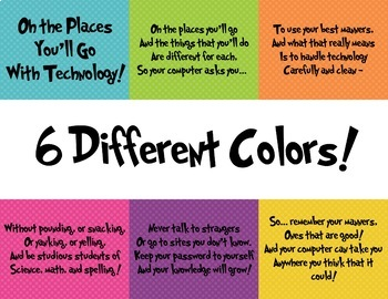 Oh the Places You'll Go with Technology - Bulletin Board
