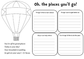 Oh, the places you'll go - Custom Listing January 2017