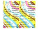 Oh, the places you'll go! Bookmark Template