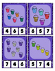 Ohhh Sparkle Sand Pails / Buckets Counting to 20 Clip Cards Math Center