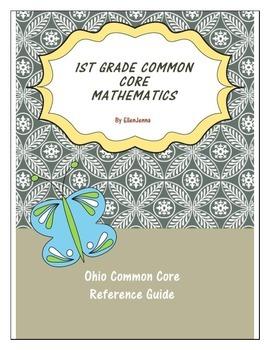 1st Grade Math Common Core Quick Reference