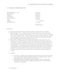 Ohio - 1st Grade Math SLO - Pre and Post Test