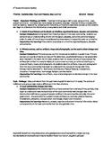 Ohio 3rd Grade Social Studies Checklist