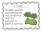 Ohio 4th Grade Earth and Space Science Standards- I Can Statements