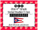 Ohio 4th Grade Social Studies I Can Statements