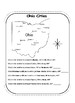 Using a Map Scale and Compass Rose Interactive Notebook and Practice Pages