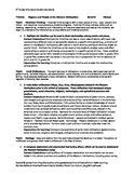 Ohio 5th Grade Social Studies Checklist