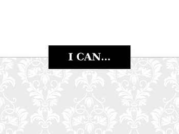 "Ohio 6th Grade ""I Can"" Statements"