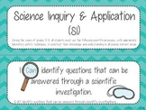 Ohio 6th Grade Science- I Can Statements & Word Wall