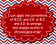 """Ohio 6th Grade Social Studies """"I can"""" Statement Posters"""
