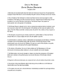 Ohio 7th Grade Social Studies Standards List (Adopted 2018)