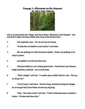 Ohio AIR Test Prep - Magic Tree House Series