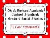 Ohio Academic Content Standards for Social Studies Grade 4