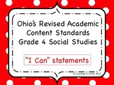 Ohio Academic Content Standards for Social Studies Grade 4