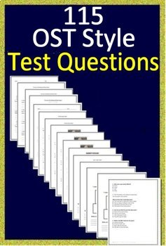 Ohio's State Test - English Language Arts 3rd Grade Tests + Games OST 2019 Style