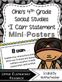 "Ohio & American History ""I Can"" Statements"