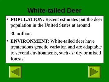 Ohio Animals Science PowerPoint