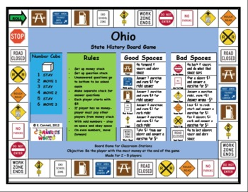 Ohio Board Game
