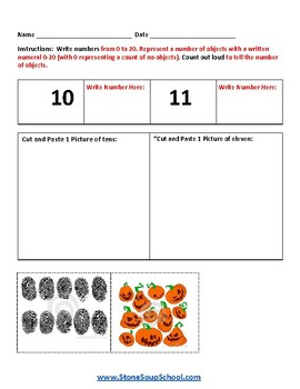 K - Ohio - Common Core - Counting and Comparing Numbers up to 100