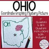 Ohio Coordinate Graphing Picture 1st Quadrant & ALL 4 Quadrants